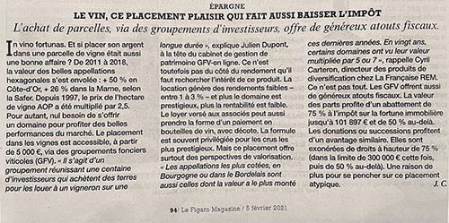 GFV Figaro Magazine